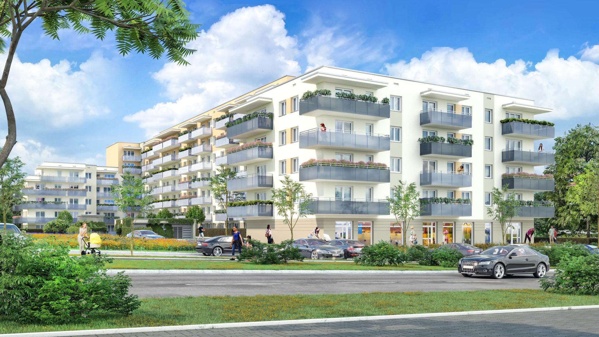 Białystok - III etap Apartamentów Kręta